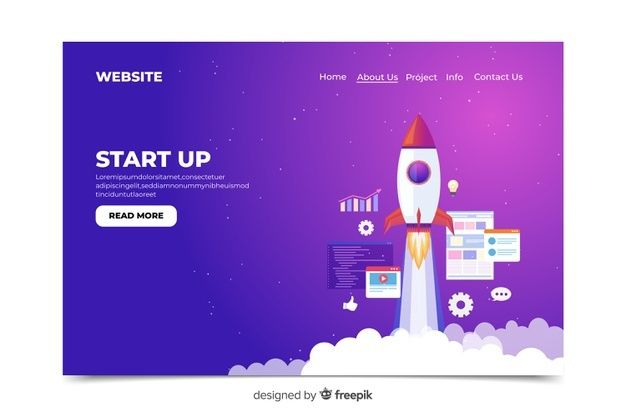 Download Startup Landing Page Template For Free Happy Birthday Card Design Landing Page Card Design Handmade