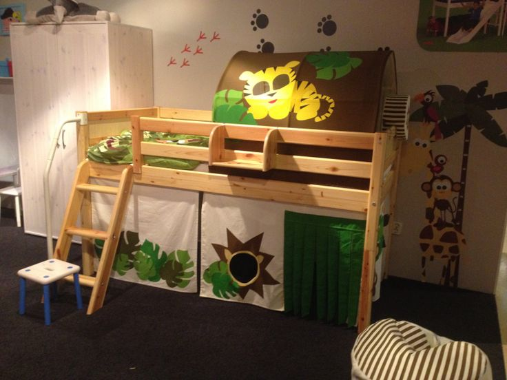 25 beste idee n over jungle kamer op pinterest jungle kinderen kamers jungle thema - Bed kamer ...