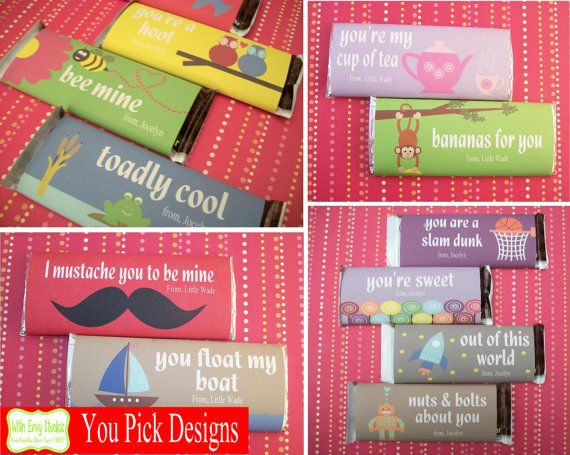 128 best chocolate wrapper images on Pinterest | Christmas candy ...