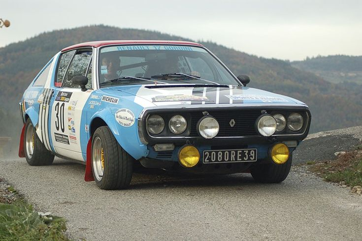 Renault 17 Gordini - Rally