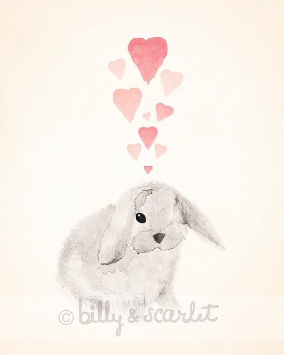 113 best Watercolor Rabbits images on Pinterest  Watercolor