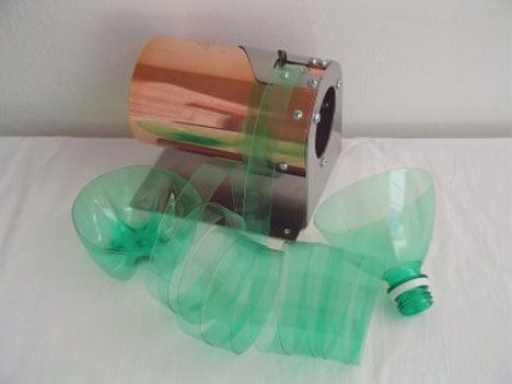 DIY Pet Bottle Shredding