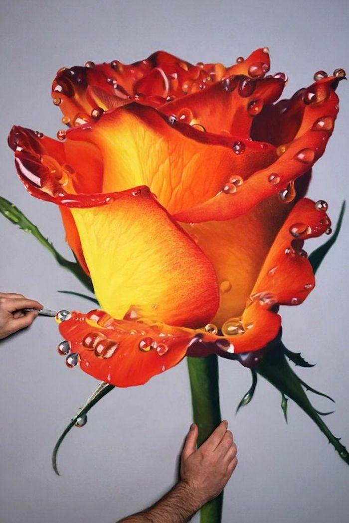 1001 Ideas De Dibujos De Flores Fáciles Y Bonitos En 2020 Con Imágenes Dibujos De Rosas Dibujos De Flores Girasol En Acuarela