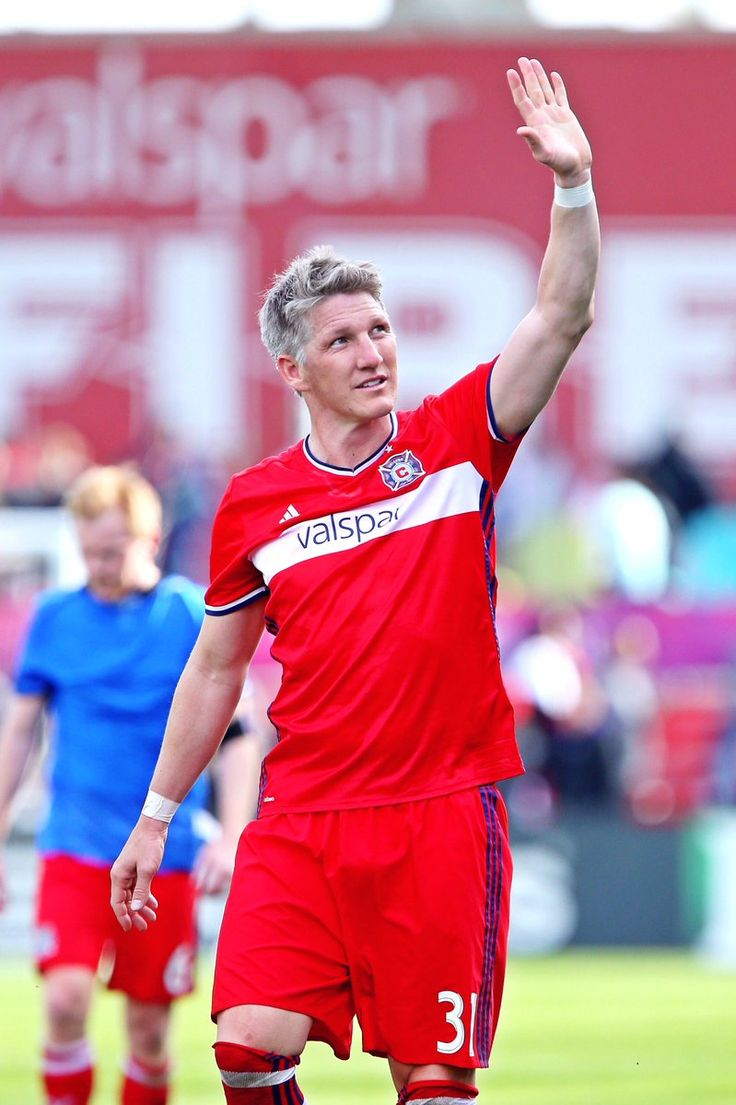 Bastian Schweinsteiger First game at Chicago Fire
