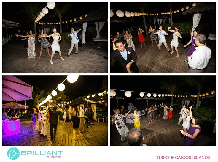 Jiamin And Michael Tie The Knot At Seven Stars Resort In Turks Caicos With Brilliant