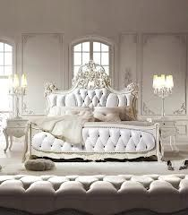 AMAZING White French bed! Don't you just wanna go and jump on it?!