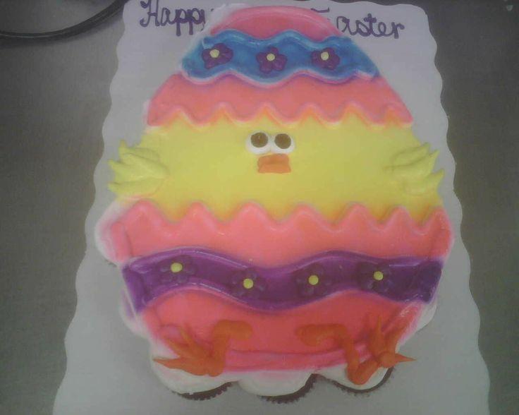 24 Ct Easter Cupcake Cake Pull Apart Cupcake Cakes