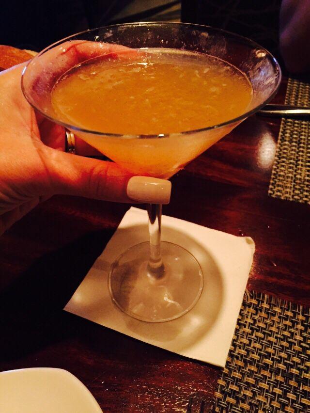Spiced Pear martini at McCormick and Schmick Harrahs AC