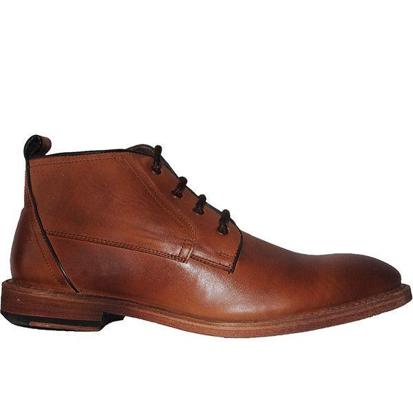 Kixters Albert - Antique Brown Leather Chukka Boot
