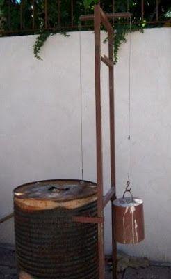 Materiales:  1 tanque de hierro  2,5 metros de manta cerámica para 1200ºC  12 ladrillos refractarios livianos  3 mts. de alambre de kantal d...