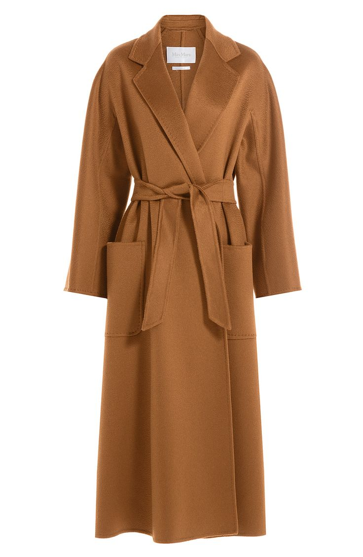 MAX MARA Cashmere Coat. #maxmara #cloth #long coat                                                                                                                                                                                 Plus