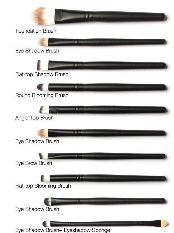 20 Pcs Makeup Brush Set Powder Foundation Eyeshadow Eyeliner Lip Cosmetic Brushe In 2020 Makeup Brush Set Makeup Brush Set Professional Professional Makeup Brushes