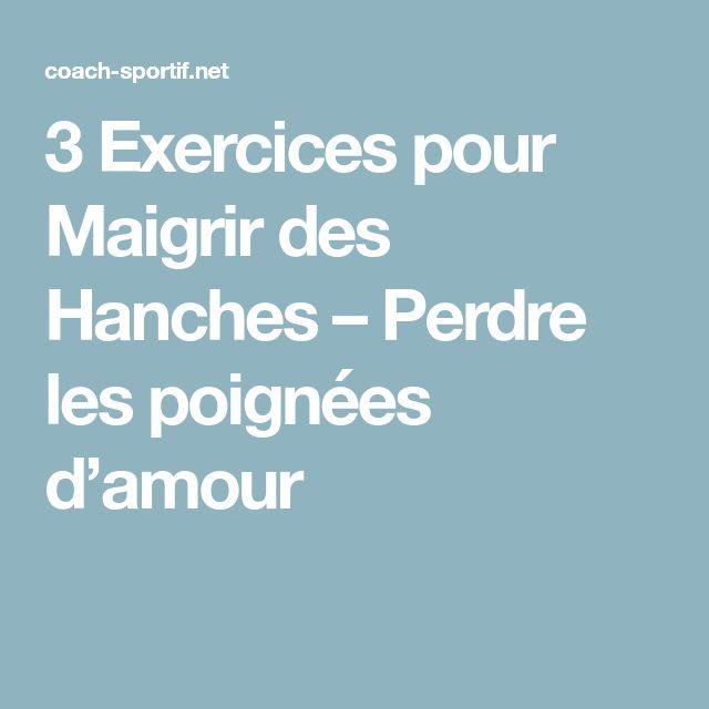 3 Exercices pour Maigrir des Hanches – Perdre les poignées