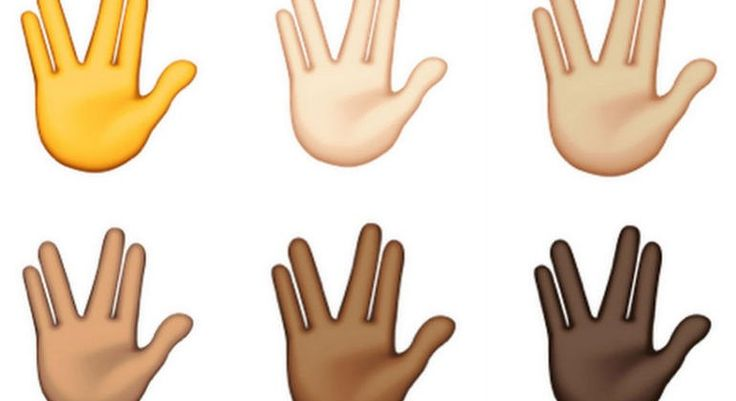 Apple: STAR TREK: Vulcan sign: Apple confirmed to add a Spock emoji to next iOS update - SlashGear (http://www.slashgear.com/apple-confirmed-to-add-a-spock-emoji-to-next-ios-update-06377691/) Leonard Nimoy's Spock has always had a place in our hearts. After his recent passing, people around the world exchanged Vulcan salutes in his honor. Soon, you'll be able to send a Star Trek inspired signal to a friend with Apple's latest emoji. Apple's upcoming iOS updates are due to include a Spock…