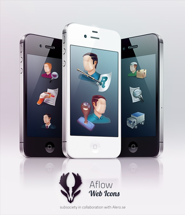 Aflow by Alero by Kristian Sörefelt, via Behance