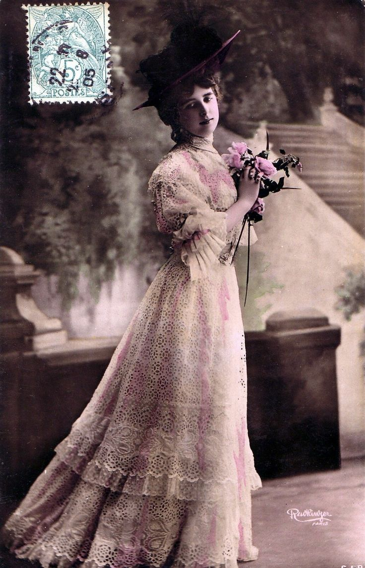 Damiroff Cpa Photo Reutlinger Actrice Damiroff 1905