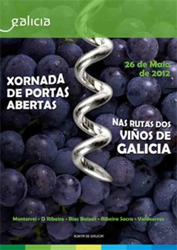 Jornada de puertas abiertas en las Rutas de los Vinos de Galicia  www.culturamas.es/ocio/2012/05/23/jornada-de-puertas-abiertas-en-las-rutas-de-los-vinos-de-galicia/#