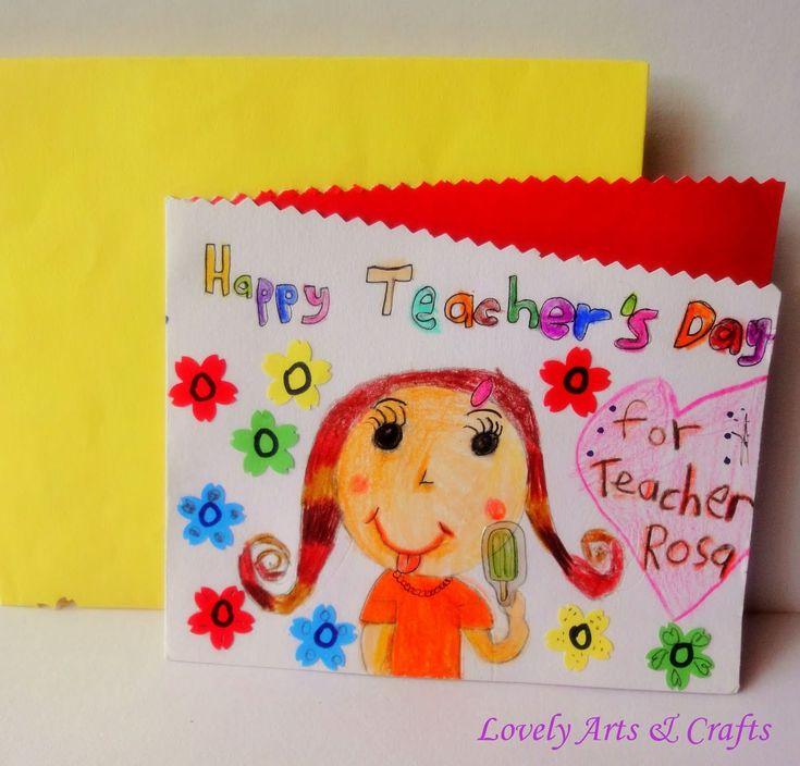 9 best cards images on pinterest  teachers' day