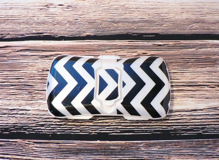 Personalized Baby Wipes Case, Custom Name Travel Wipe Box, Chevron Wipes Container by NorthPineDesign on Etsy