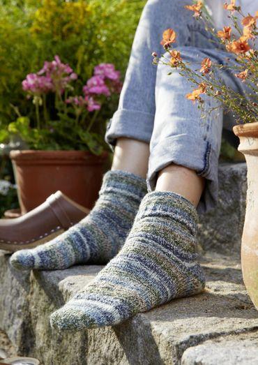 Sokken in het weefpatroon |  Schachenmayr