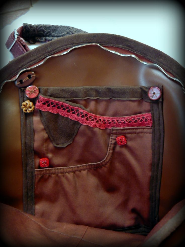 "Handmade by Judy Majoros - ""Female face"" Brick red -Round faux fur shoulder bag -crossbody bag.Recycled bag"