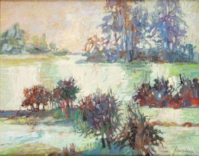 Jan Szancenbach - Powódź III, 1988