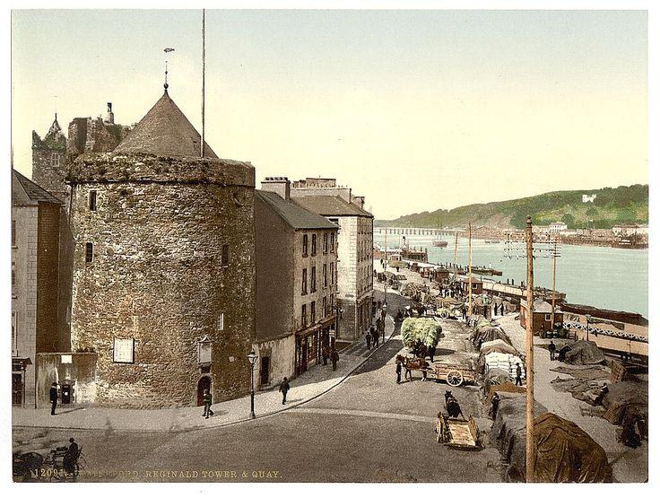 Reginald Tower and Quay (1890 - 1900)