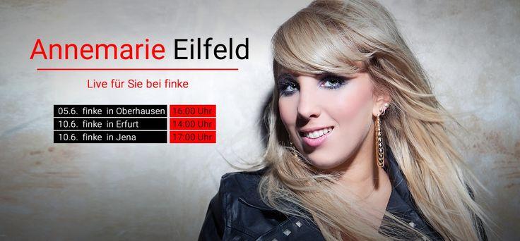 Autogrammstunde - Annemarie Eilfeld