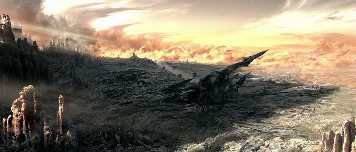 Chronicles of Riddick. Crematoria sunrise