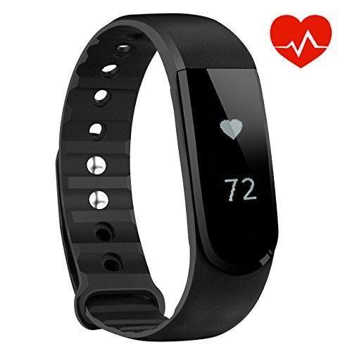 Oferta: 23.99€ Dto: -40%. Comprar Ofertas de OMorc Pulsera Actividad y Monitor de Ritmo Cardiáco, Resistente al Agua y Bluetooth 4.0, Podómetro, Monitor de Sueño, Control barato. ¡Mira las ofertas!