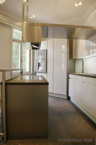 Die besten 25+ Dunsthaube Ideen auf Pinterest Moderne küchen - Arbeitsplatte Küche Edelstahl