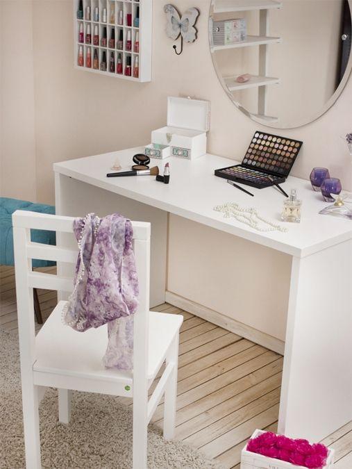 Organize seu cantinho de beleza beleza quartos and for Calma house outlet