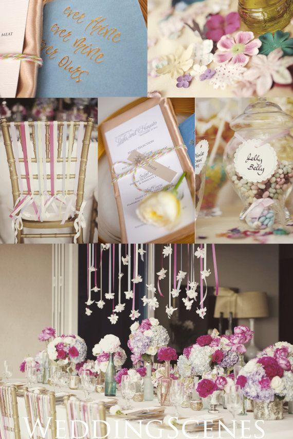 Wedding cake (Colorful Spring) の画像|ハワイウェディングプランナーNAOKOの欧米スタイル結婚式ブログ