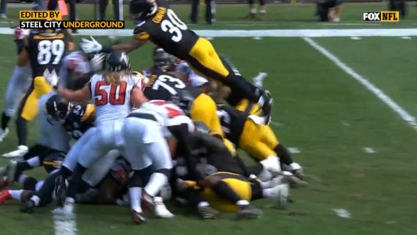Watch James Conner S Big Day Begins With Dive Into The Endzone Steel City Big Day Favorite Team