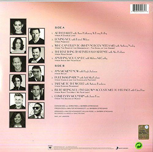 Encore: Movie Partners Sing Broadway (Vinyl 180 g) [Vinyl LP] - Barbra Streisand: Amazon.de: Musik. Vinyl (26. August 2016) Anzahl Disks/Tonträger: 1 Label: Smi Col (Sony Music)