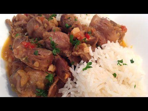 Cocina Muy Sencilla: MOLLEJAS DE POLLO GUISADAS