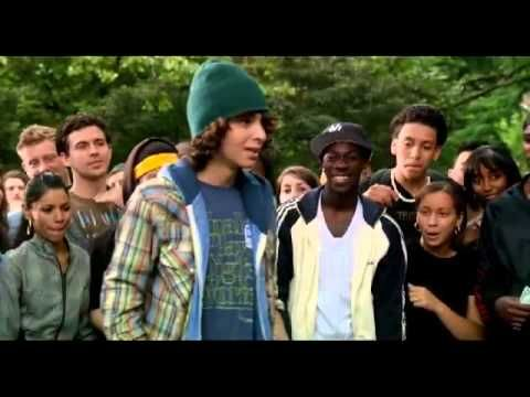 This is why you want to see the 'Step Up' movies in 3D. 'Moose' character is Adam Sevani - great dancer!