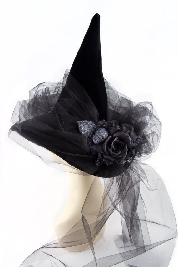 Black Magic Woman Witch Hat by HOHOHATS on Etsy More