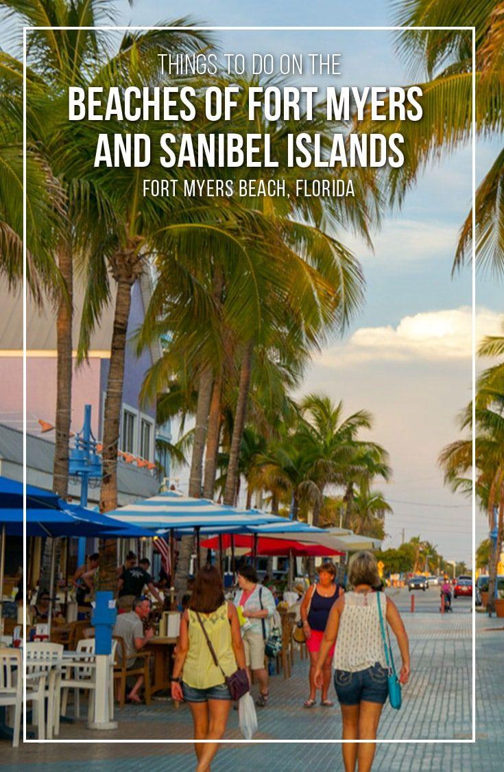 Dream Beach Vacation On Fort Myers Beach Florida Beach Trip