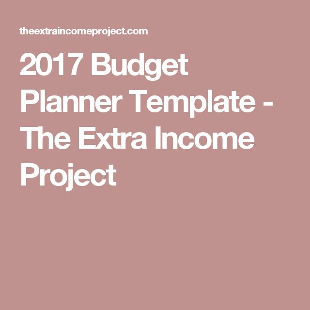 The 25+ best Budget planner template ideas on Pinterest Free - budget plan template example