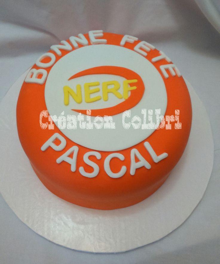 Gâteau Nerf Cake