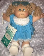 Cabbage Patch Kid Original 1985 Doll With Birth Certificate And Tooth Brush