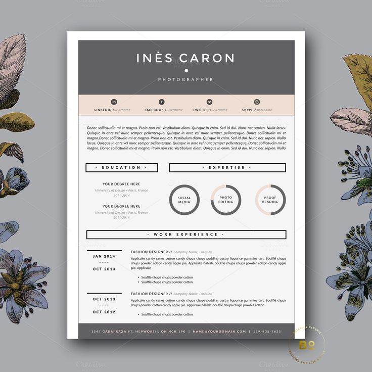 resume templates word creative professional samples free google docs template online
