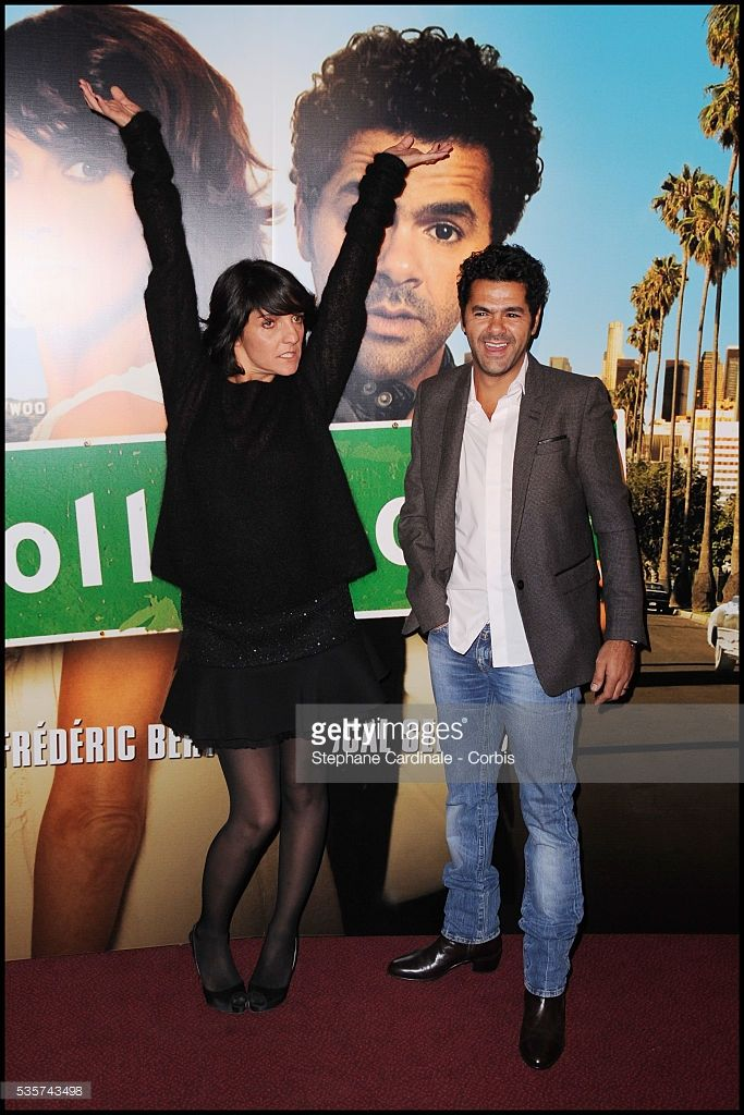 Photo d'actualité : Florence Foresti and Jamel Debbouze attend the...