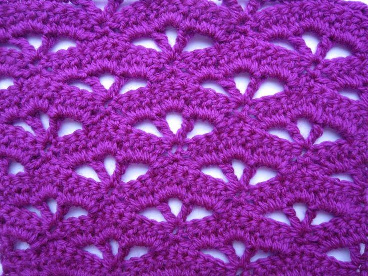 Crochet pattern Узоры крючком для начинающих видео