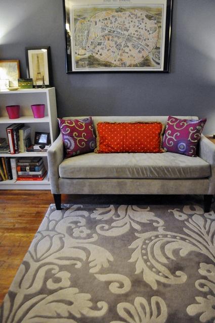 Alex S Cozy Garden Apartment In Brooklyn Living Rooms
