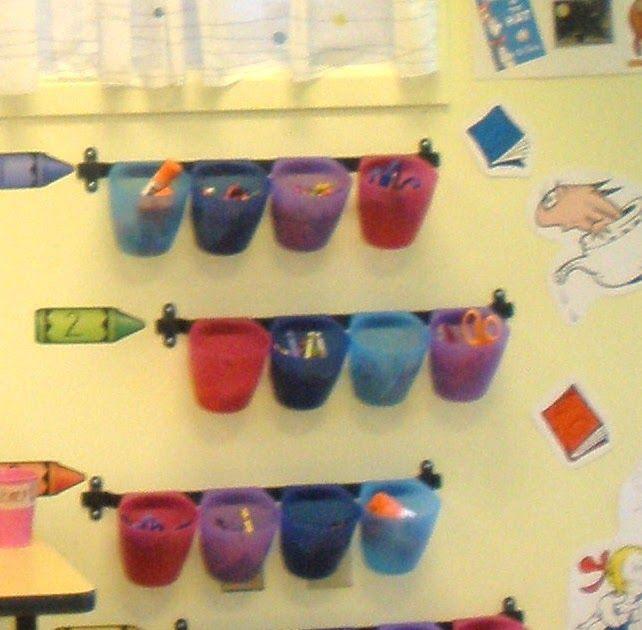 Kindergarten Kel: Organization Idea