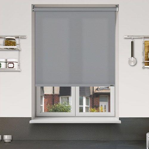 Controliss Liso Metropolis battery powered roller blind. #Shades #Home #HomeDecor #InteriorDesign #Decor #RolleBlinds #CreateYourHome #BudgetBlinds #WindowShades #Window #Design #Blind #WindowCoverings #Windows #Blinds #MadeinUK