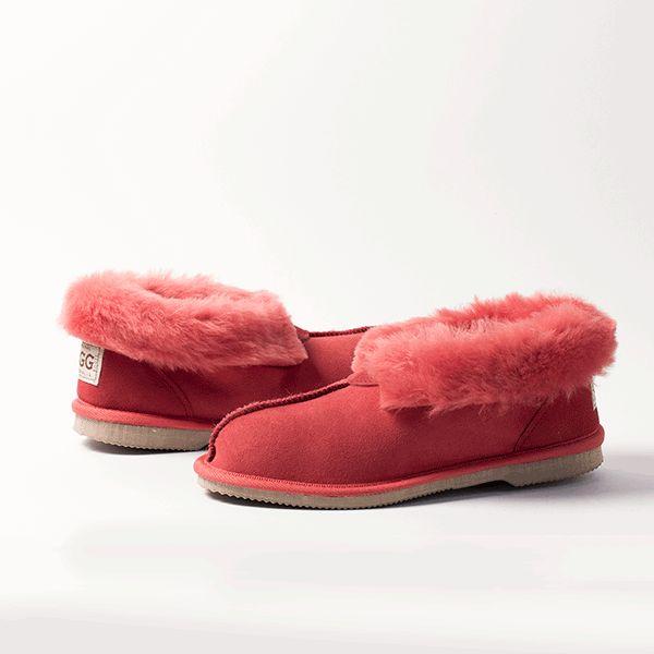 Tomato UGG Slippers #tomato #red #watermelon  #sheepskin #ugg #boots #slippers #uggboots #australia #aussie #australian