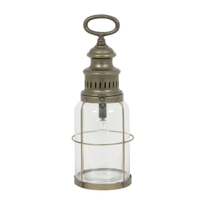 Dorset Table Lamp LED Lantern from The Farthing
